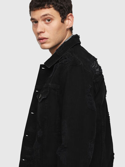 Diesel - D-HILL,  - Denim Jackets - Image 5