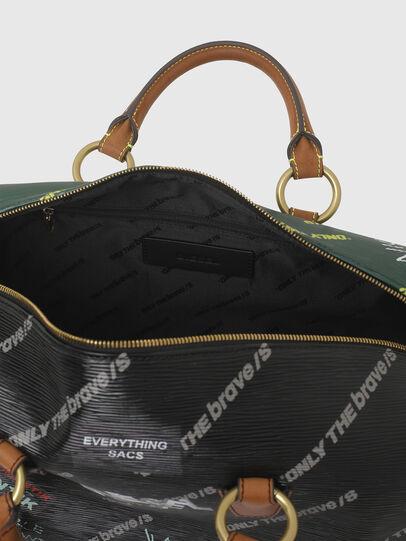 Diesel - TYLEBAG R, Black/Green - Travel Bags - Image 3
