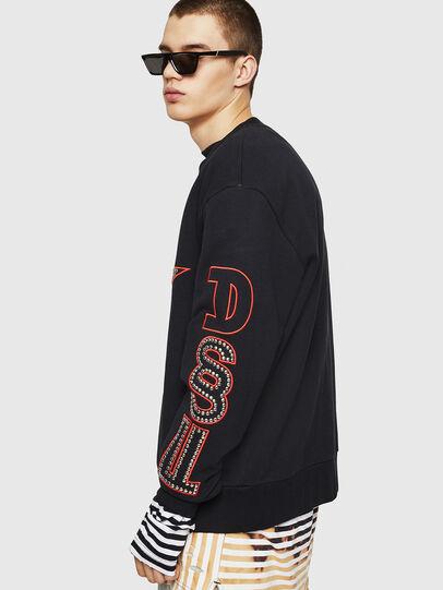 Diesel - S-BAY-STUDS, Black - Sweaters - Image 4