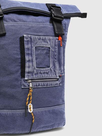 Diesel - FOLD, Blue - Backpacks - Image 7