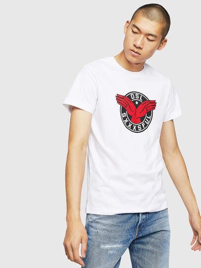 Diesel - T-DIEGO-B5, White - T-Shirts - Image 1