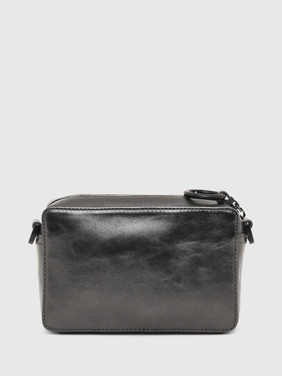 Diesel - ROSA' CNY, Silver - Crossbody Bags - Image 3