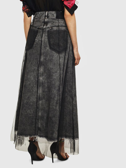 Diesel - O-MARGY, Black - Skirts - Image 2