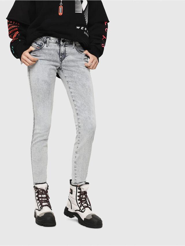 Diesel - Gracey JoggJeans 069FE, Light Blue - Jeans - Image 1