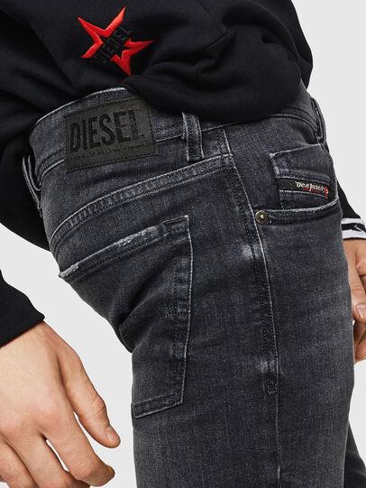 Diesel - Sleenker 084AT, Black/Dark grey - Jeans - Image 5