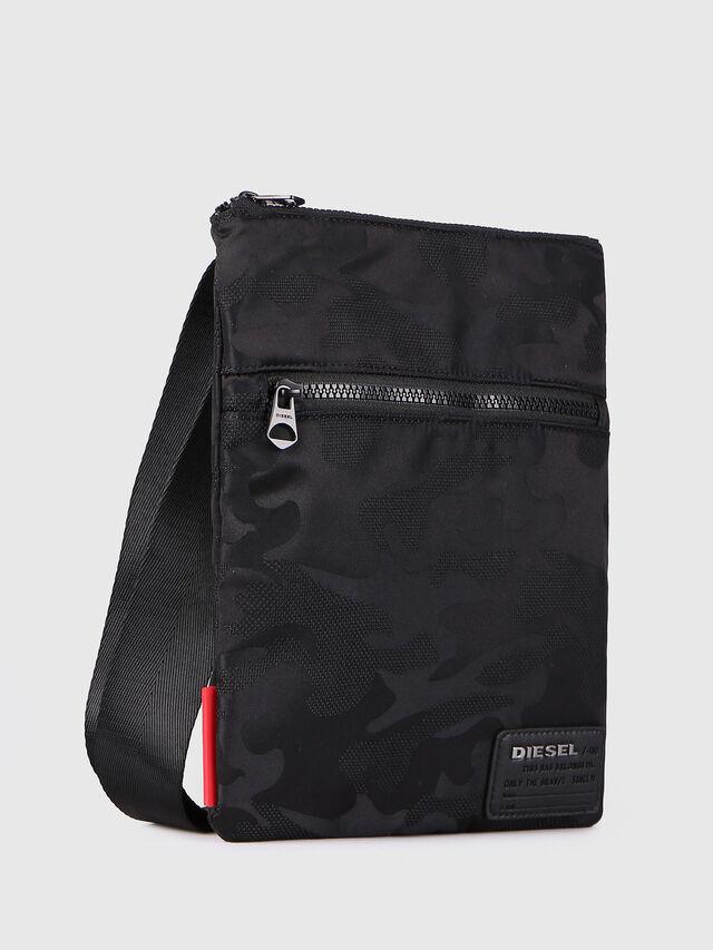 Diesel F-DISCOVER CROSS, Black - Crossbody Bags - Image 2