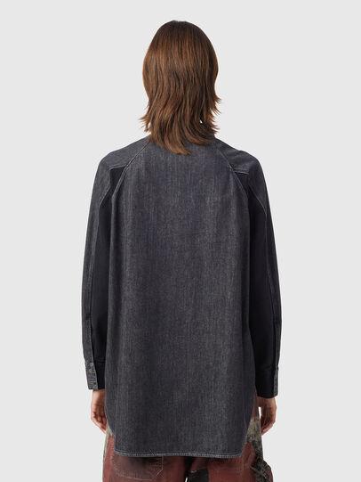 Diesel - DE-NOVA-SP1, Black - Denim Shirts - Image 2