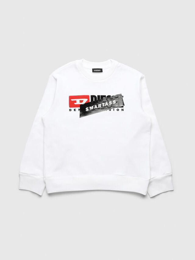 Diesel - UN-K-SCREWDIVISION-B, White - Sweaters - Image 1