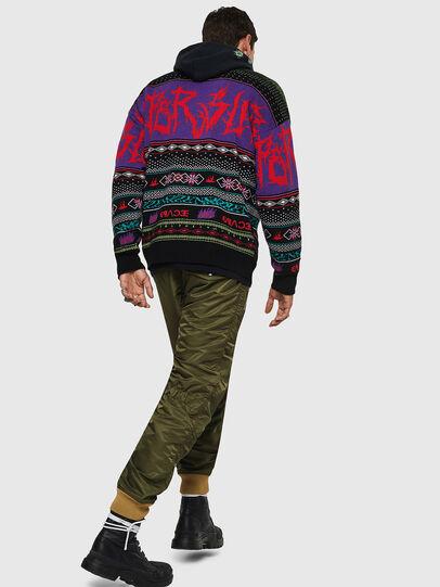 Diesel - K-CHILL, Multicolor/Black - Knitwear - Image 8