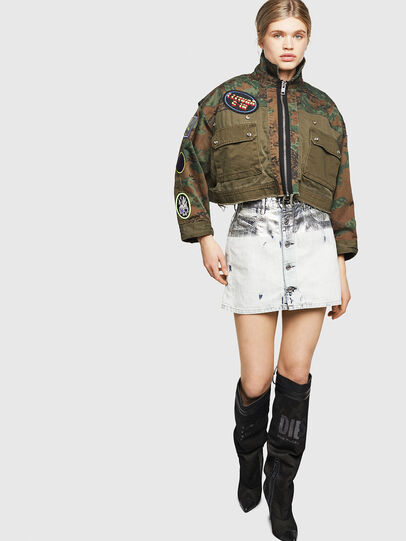 Diesel - G-ANAPAY, Military Green - Jackets - Image 6