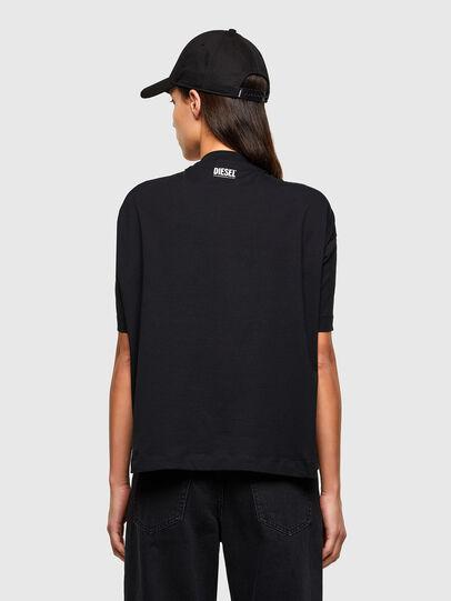 Diesel - T-ALHOOK, Black - T-Shirts - Image 2