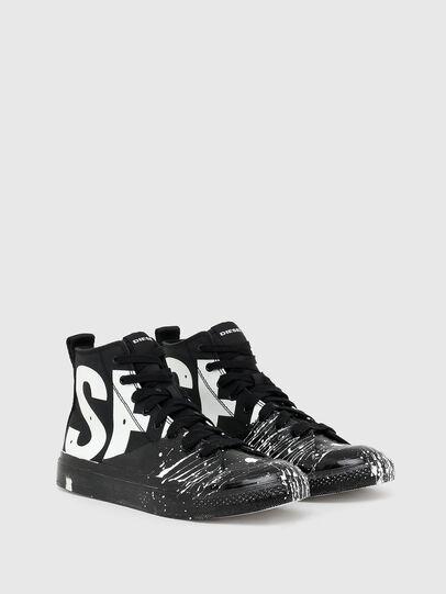Diesel - S-ASTICO MC, Black/White - Sneakers - Image 2