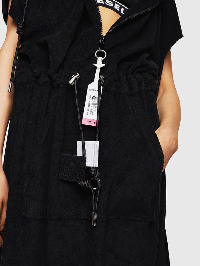 Diesel - D-LUNAI-A, Black - Dresses - Image 5