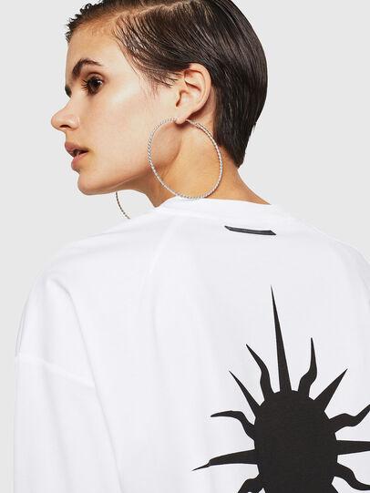 Diesel - TELIX-A, White - T-Shirts - Image 3