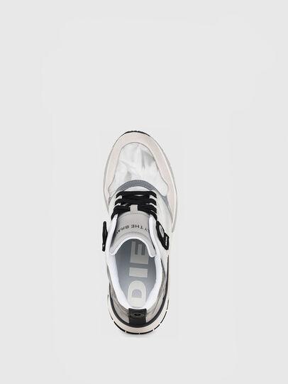 Diesel - S-BRENTHA LC, Light Grey - Sneakers - Image 4