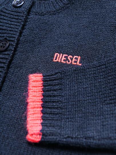 Diesel - KOGYB, Blue/Red - Knitwear - Image 3