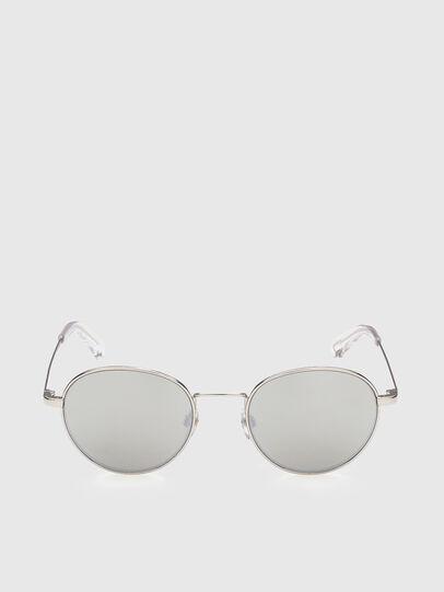 Diesel - DL0290, White - Sunglasses - Image 1
