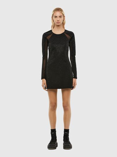 Diesel - D-BRILLA, Black - Dresses - Image 1