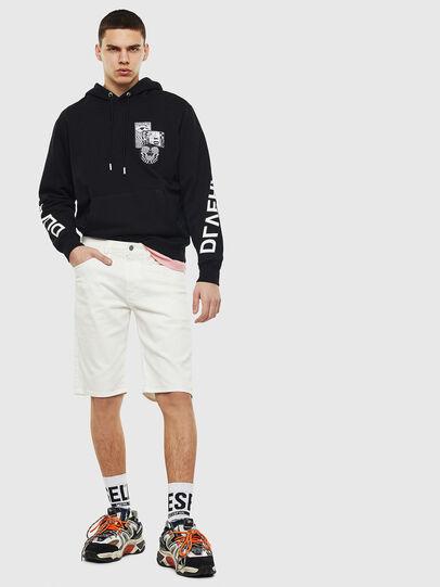 Diesel - THOSHORT, White - Shorts - Image 6