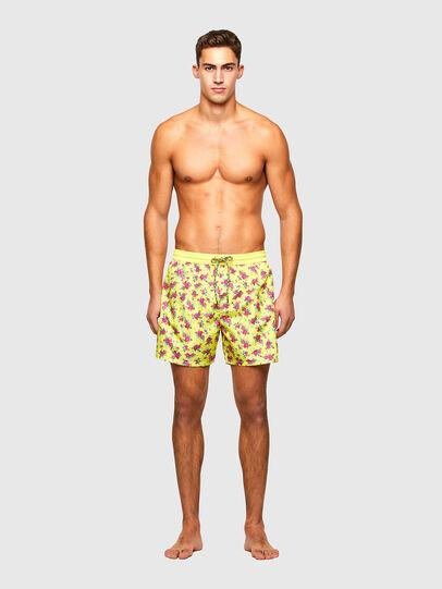 Diesel - BMBX-WAVE 2.017, Yellow - Swim shorts - Image 1