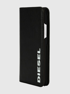 DIESEL 2-IN-1 FOLIO CASE FOR IPHONE XR, Black/White - Flip covers