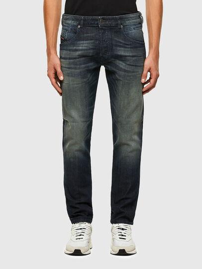 Diesel - D-Bazer 009EP, Dark Blue - Jeans - Image 1