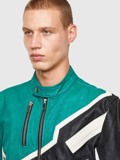 Diesel - L-PARKS,  - Leather jackets - Image 3