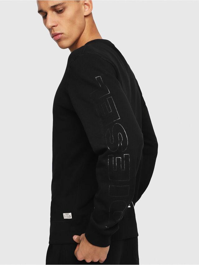 Diesel UMLT-WILLY, Black - Sweaters - Image 3