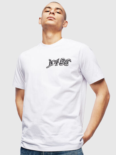 Diesel - T-JUST-T31, White - T-Shirts - Image 1