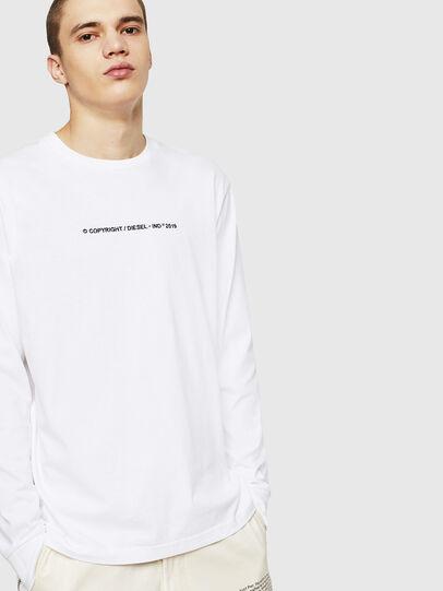 Diesel - T-JUST-LS-COPY,  - T-Shirts - Image 4