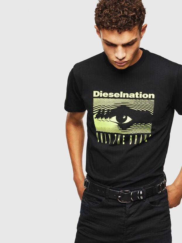 T-DIEGO-J4, Black - T-Shirts