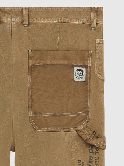 Diesel - P-TRENT, Light Brown - Pants - Image 4