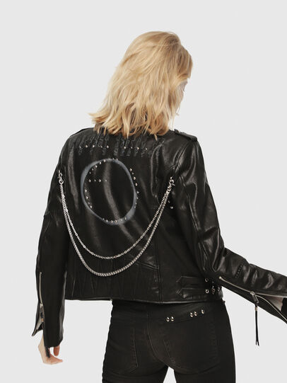 Diesel - SE-LENE,  - Leather jackets - Image 2