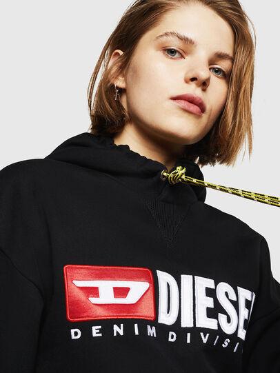 Diesel - F-DINIE-A, Bright Black - Sweaters - Image 3
