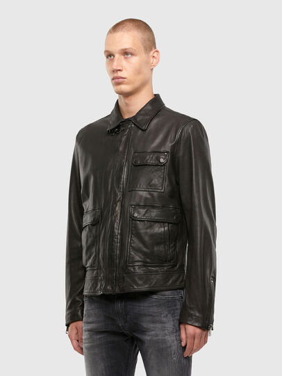 Diesel - L-LUC,  - Leather jackets - Image 6