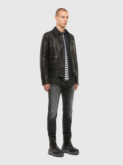 Diesel - L-LUC,  - Leather jackets - Image 7