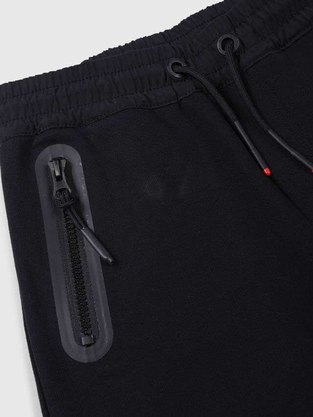 Diesel - PGLOBE, Black - Shorts - Image 3