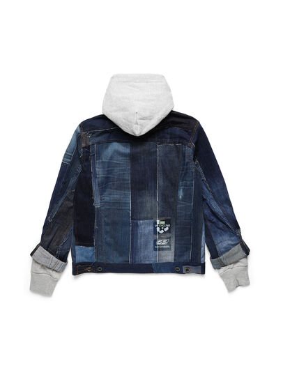 Diesel - D-OWNHILL55, Medium blue - Denim Jackets - Image 2