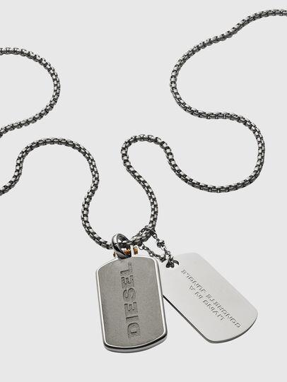 Diesel - DX1194, Silver - Necklaces - Image 2