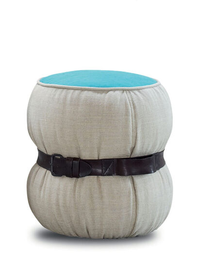 Diesel - CHUBBY CHIC - SMALL POUF, Multicolor  - Furniture - Image 3