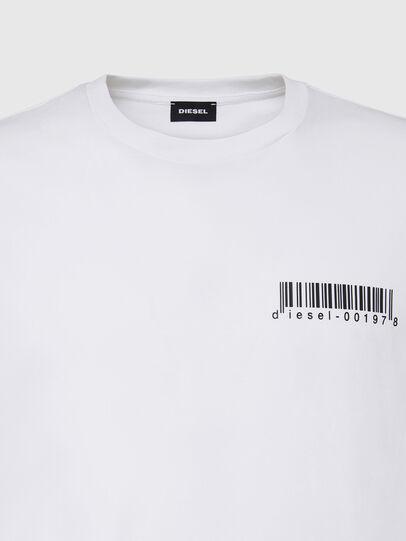 Diesel - T-DIEGOS-X67, White - T-Shirts - Image 3