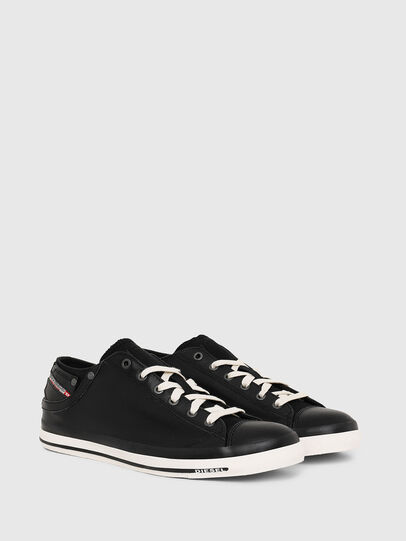 Diesel - EXPOSURE LOW I, Black - Sneakers - Image 2