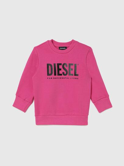 Diesel - SCREWDIVISION-LOGOB-, Pink - Sweaters - Image 1