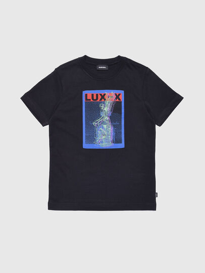 Diesel - TJUSTXD, Black - T-shirts and Tops - Image 1