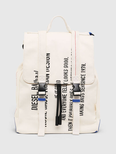 Diesel - VOLPAGO BACK, White - Backpacks - Image 1