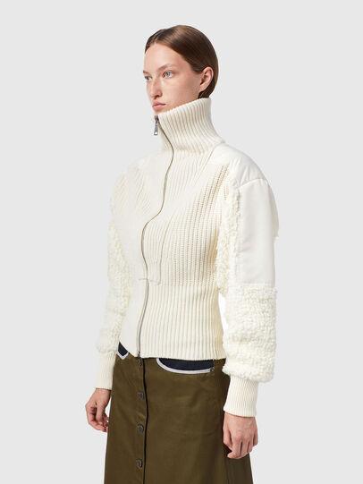 Diesel - M-WISCONSIN, White - Knitwear - Image 4