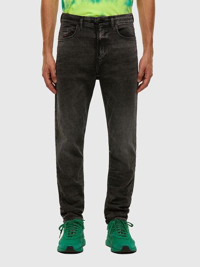 Diesel - D-Vider JoggJeans 009FZ, Black/Dark grey - Jeans - Image 1