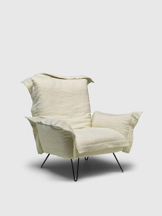 Living DL0F55 CLOUDSCAPE, White - Armchairs - Image 2