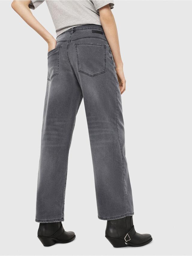 Diesel - Widee JoggJeans 069EH, Black/Dark grey - Jeans - Image 2