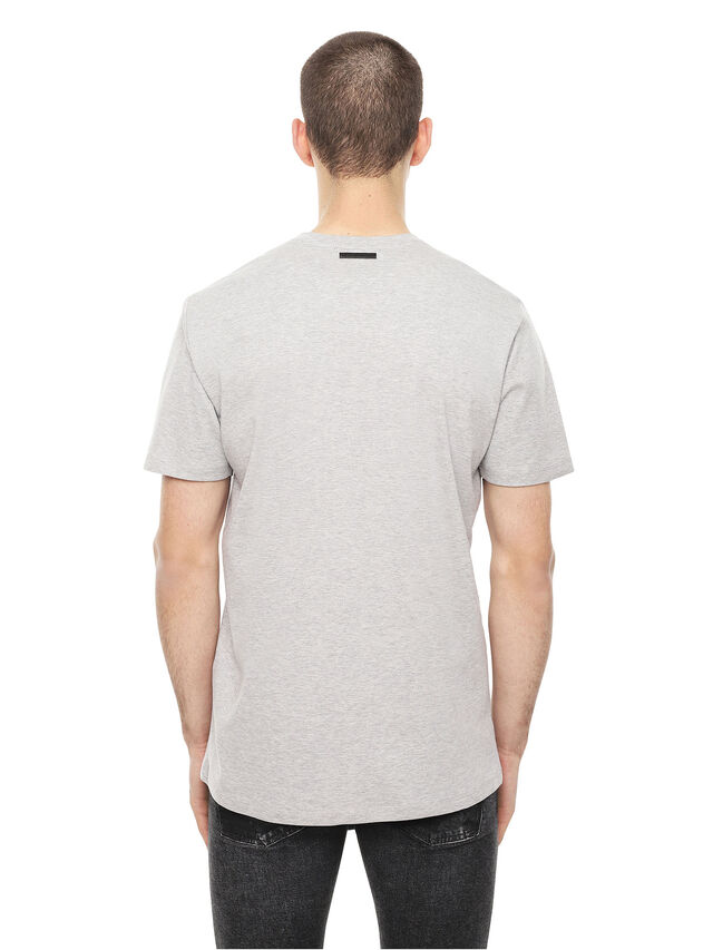 Diesel - TY-SOLDIER, Grey - T-Shirts - Image 2